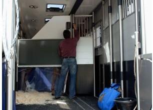 Inside the Marcel Jordan truck