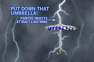 Umbrella lightning